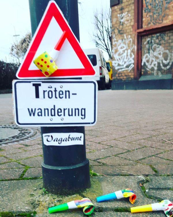 Vagabunt klebt Mainz zu - und das ist gut so | Lustiges | Was is hier eigentlich los?