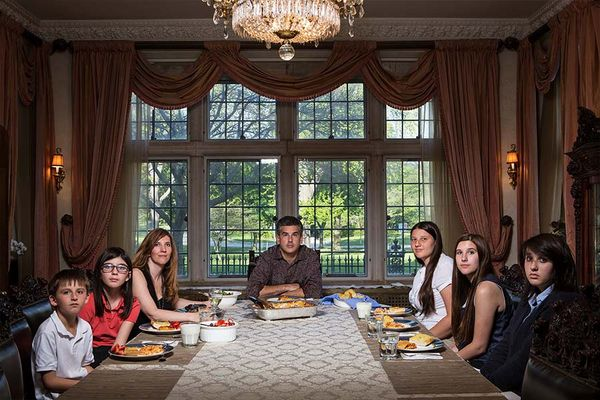 Wie in Amerika Abends zusammen gegessen wird | Geschichten aus'm Alltag | Was is hier eigentlich los?