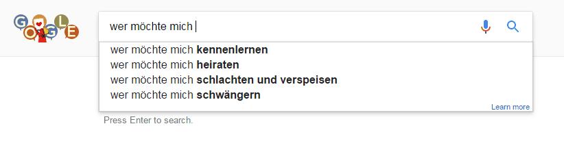 Abgründe aus der Google-Suche #2 | Lustiges | Was is hier eigentlich los?