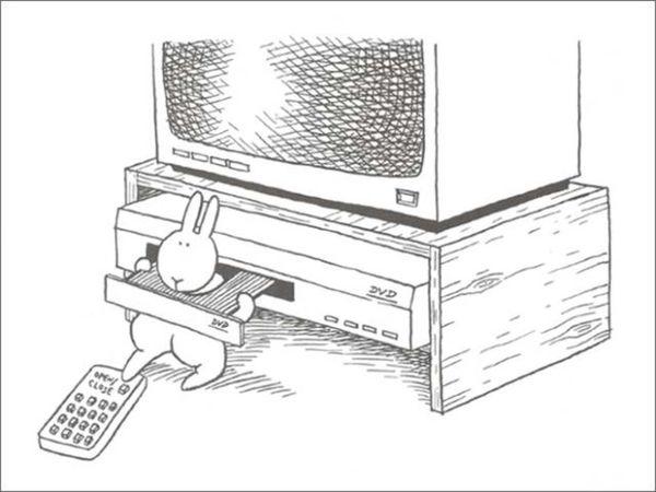 Der suizid-gefährdete Hase von Andy Riley | Lustiges | Was is hier eigentlich los?
