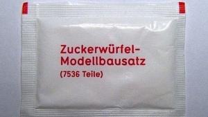 Ein Modellbausatz für Zuckerwürfel | Lustiges | Was is hier eigentlich los? | wihel.de