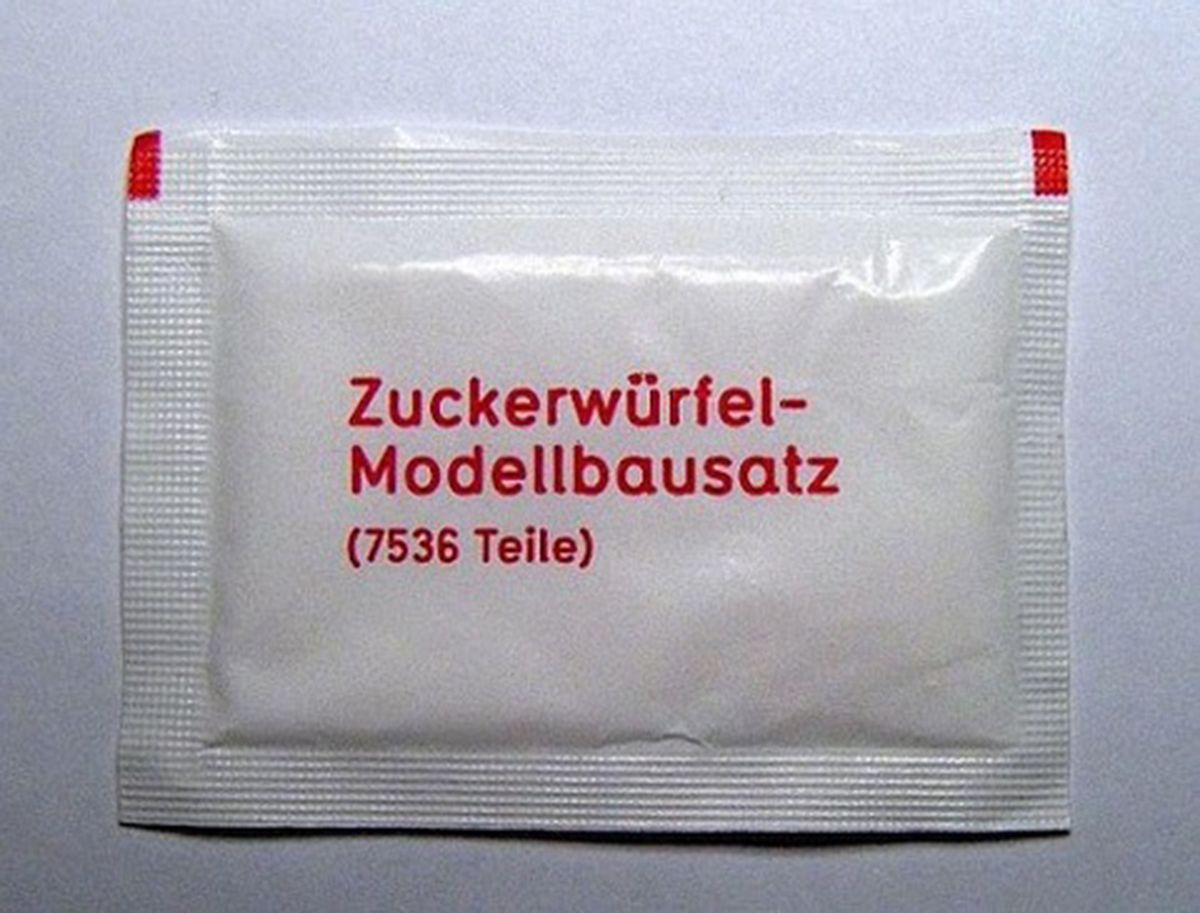 Ein Modellbausatz für Zuckerwürfel | Lustiges | Was is hier eigentlich los?
