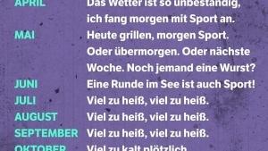 Ein paar weitere Ausreden, um keinen Sport zu machen | Lustiges | Was is hier eigentlich los? | wihel.de