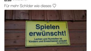 Eines der besten Schilder in Deutschland | Lustiges | Was is hier eigentlich los? | wihel.de