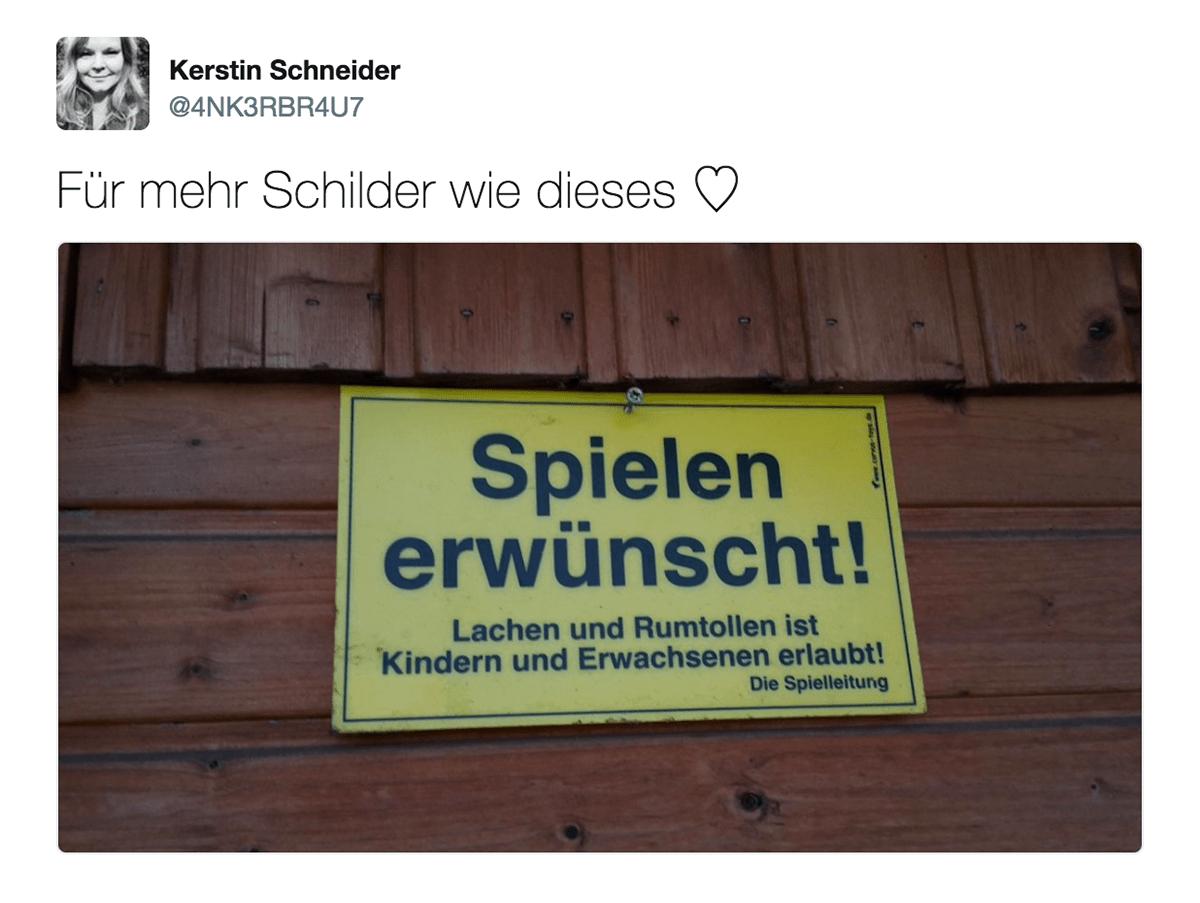Eines der besten Schilder in Deutschland | Lustiges | Was is hier eigentlich los?