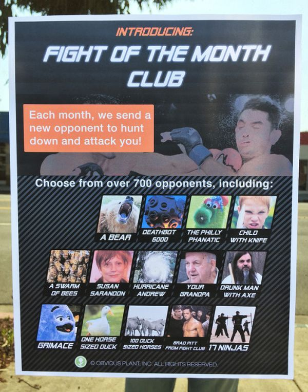 Fight of the month Club | Lustiges | Was is hier eigentlich los?