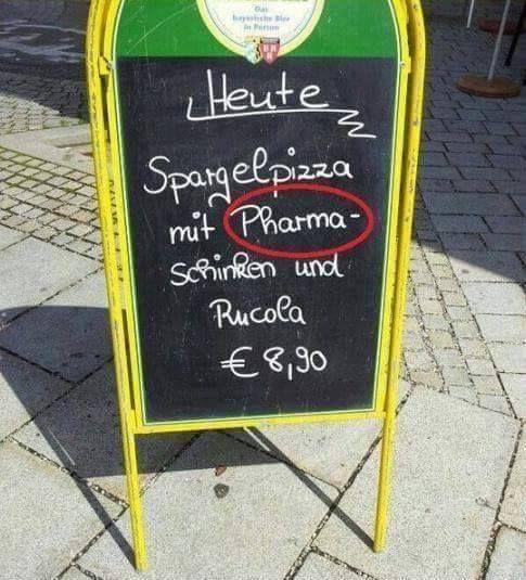 Mmmmmmhhh ... Pharmaschinken | Lustiges | Was is hier eigentlich los? | wihel.de