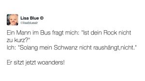 Schlagfertigkeit par excellence | Lustiges | Was is hier eigentlich los? | wihel.de