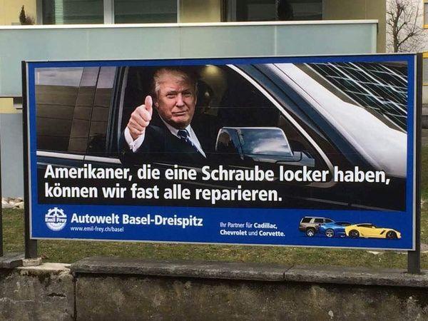 Schweizer Autohändler mit Humor | Lustiges | Was is hier eigentlich los?