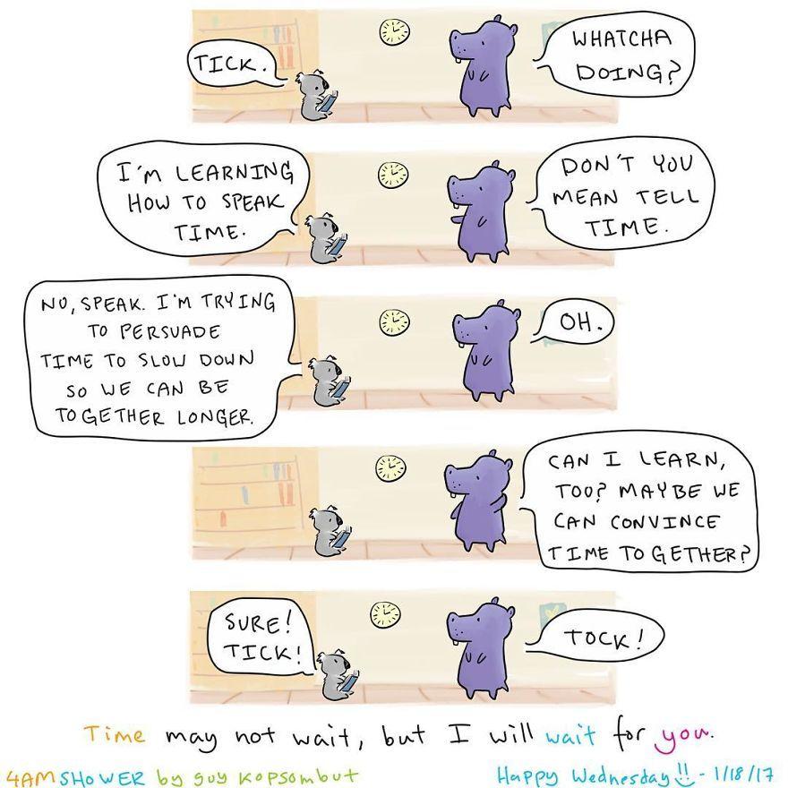 Super Happy Animal Comics von Guy Kopsombut | Design/Kunst | Was is hier eigentlich los?