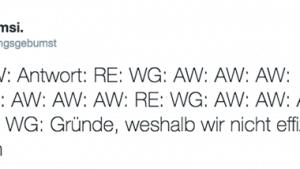 Warum wir nicht effizient arbeiten | Lustiges | Was is hier eigentlich los? | wihel.de