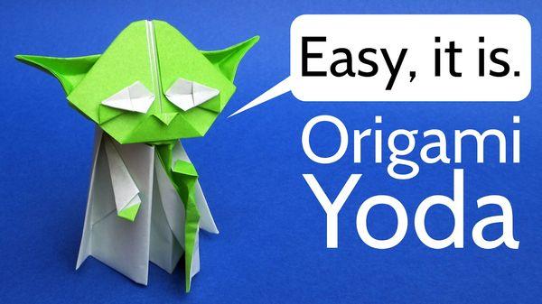 Wie Origami-Yoda du faltest | Handwerk | Was is hier eigentlich los?