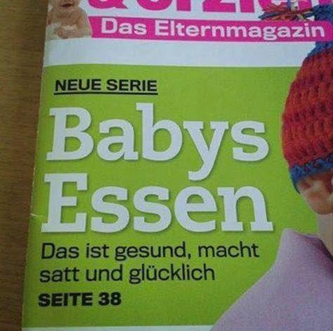 Babies Essen - weils so zart und lecker ist | Lustiges | Was is hier eigentlich los?