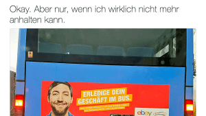 Dank eBay werden Linienbusse fahrende Toiletten | Lustiges | Was is hier eigentlich los? | wihel.de