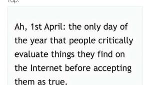 Das Einzige, was am 1. April wirklich gut ist | Lustiges | Was is hier eigentlich los?