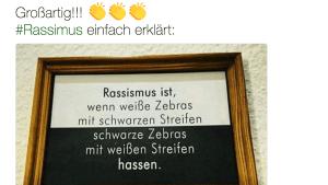 Zebra-Rassismus | Lustiges | Was is hier eigentlich los? | wihel.de