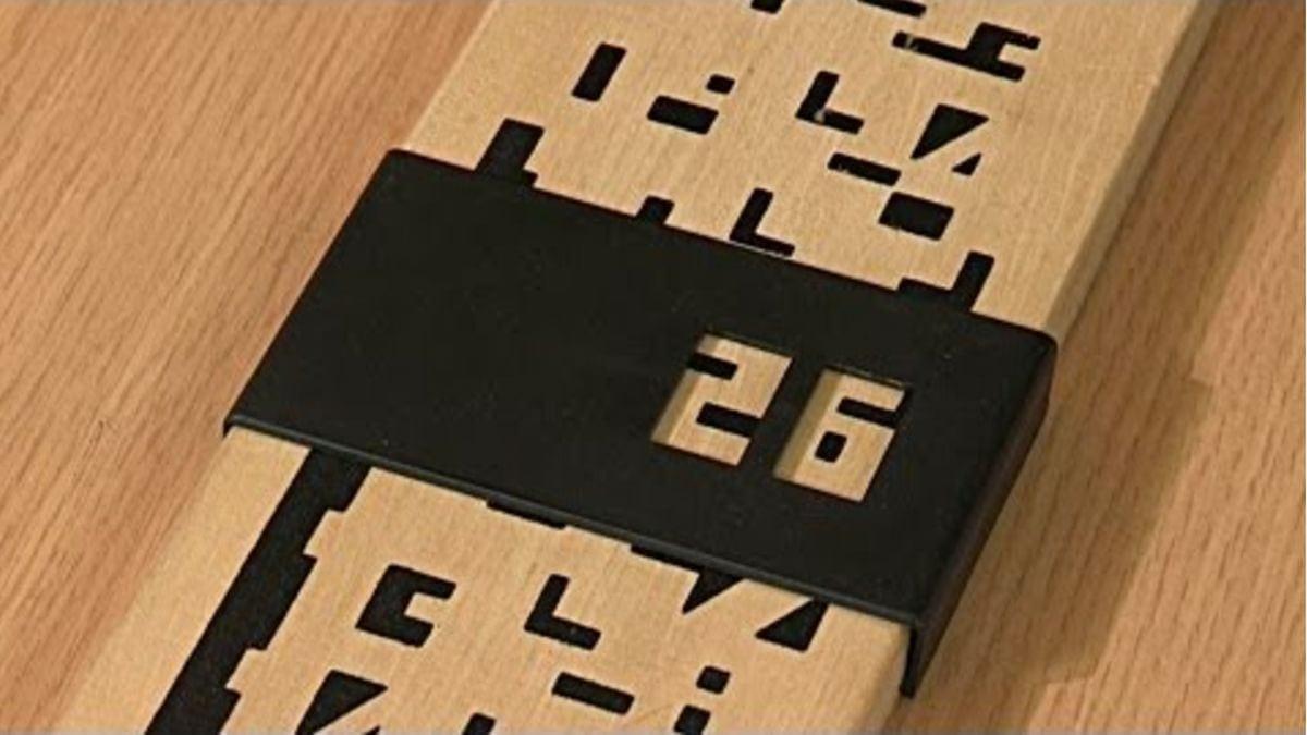 Der kryptische Kalender von Tim Rowett | Gadgets | Was is hier eigentlich los?