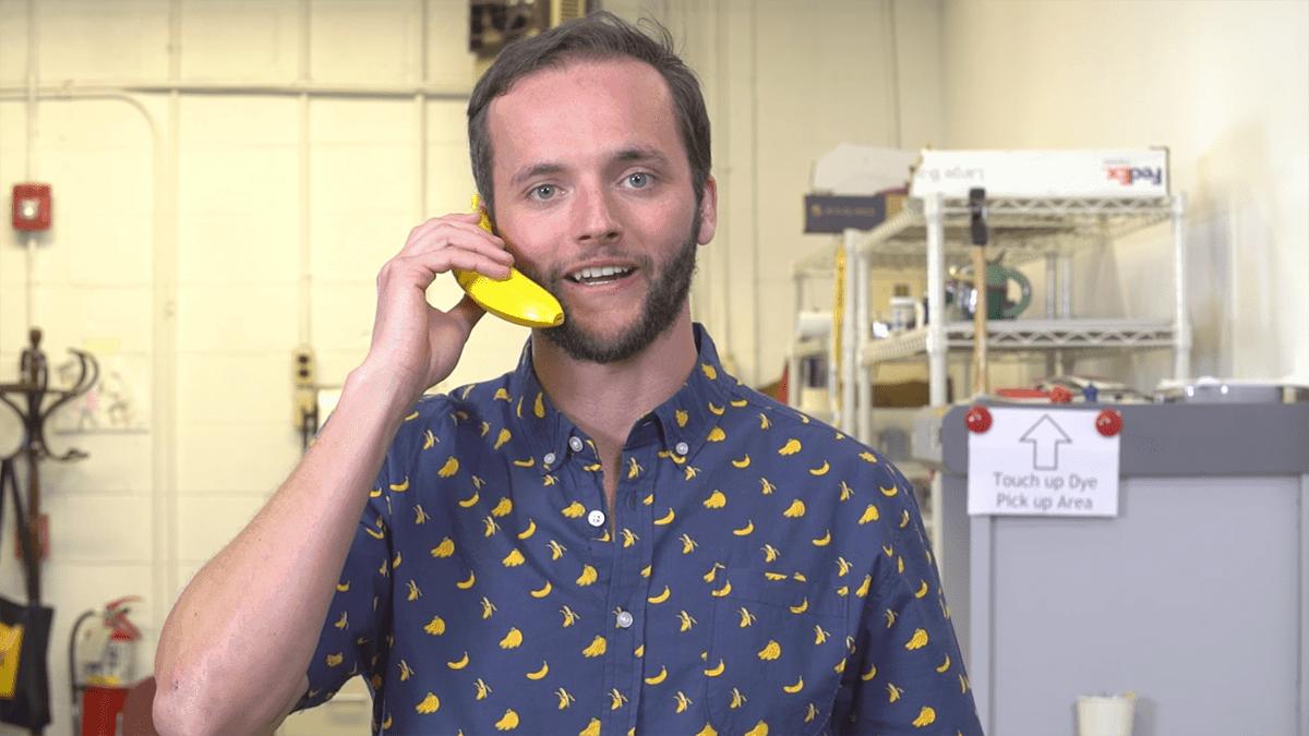 Ein Bananentelefon | Gadgets | Was is hier eigentlich los?