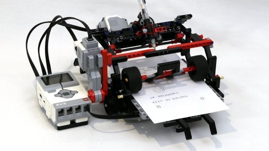 Ein Drucker aus LEGO gebaut | Gadgets | Was is hier eigentlich los?