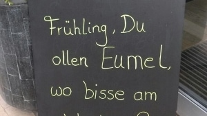 Hömma, Frühling ... | Lustiges | Was is hier eigentlich los? | wihel.de