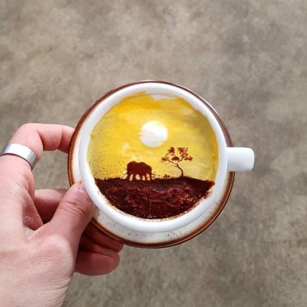 Next-Level-Kaffeekunst von Kangbin Lee | Essen und Trinken | Was is hier eigentlich los? | wihel.de