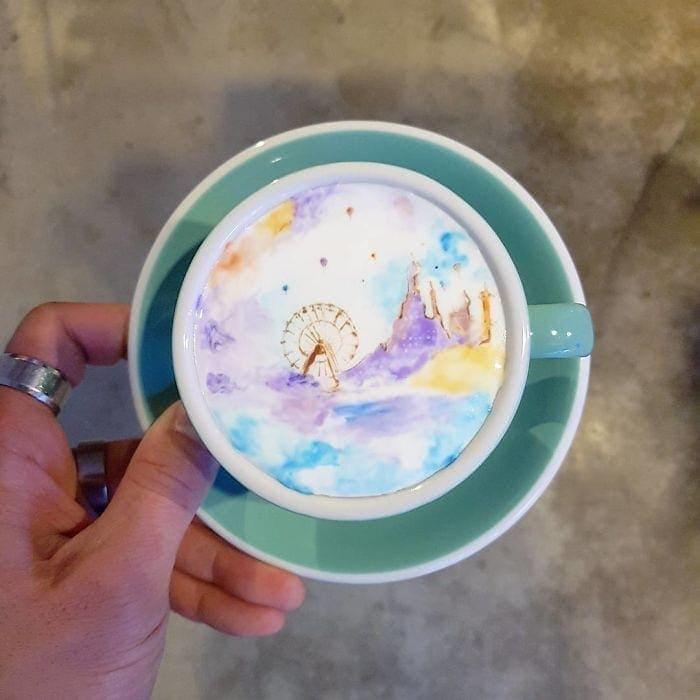 Next-Level-Kaffeekunst von Kangbin Lee | Essen und Trinken | Was is hier eigentlich los?