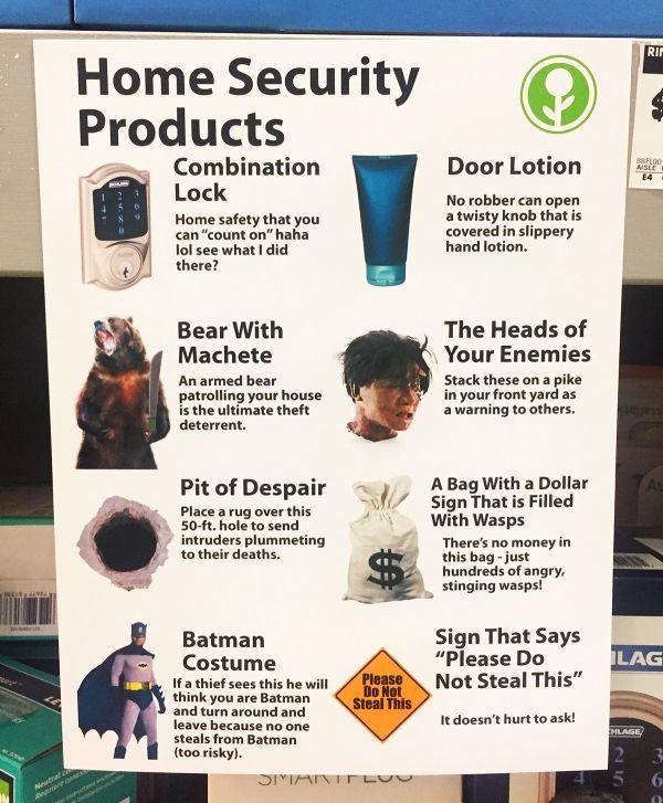 Top Sicherheitsprodukte für die eigenen 4 Wände | Lustiges | Was is hier eigentlich los?