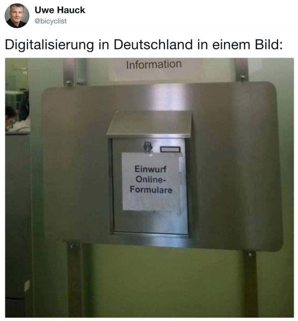 Der aktuelle Stand der Digitalisierung in Deutschland | Lustiges | Was is hier eigentlich los? | wihel.de