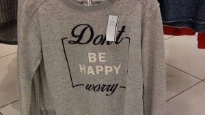 Don't be happy - worry! | Lustiges | Was is hier eigentlich los?