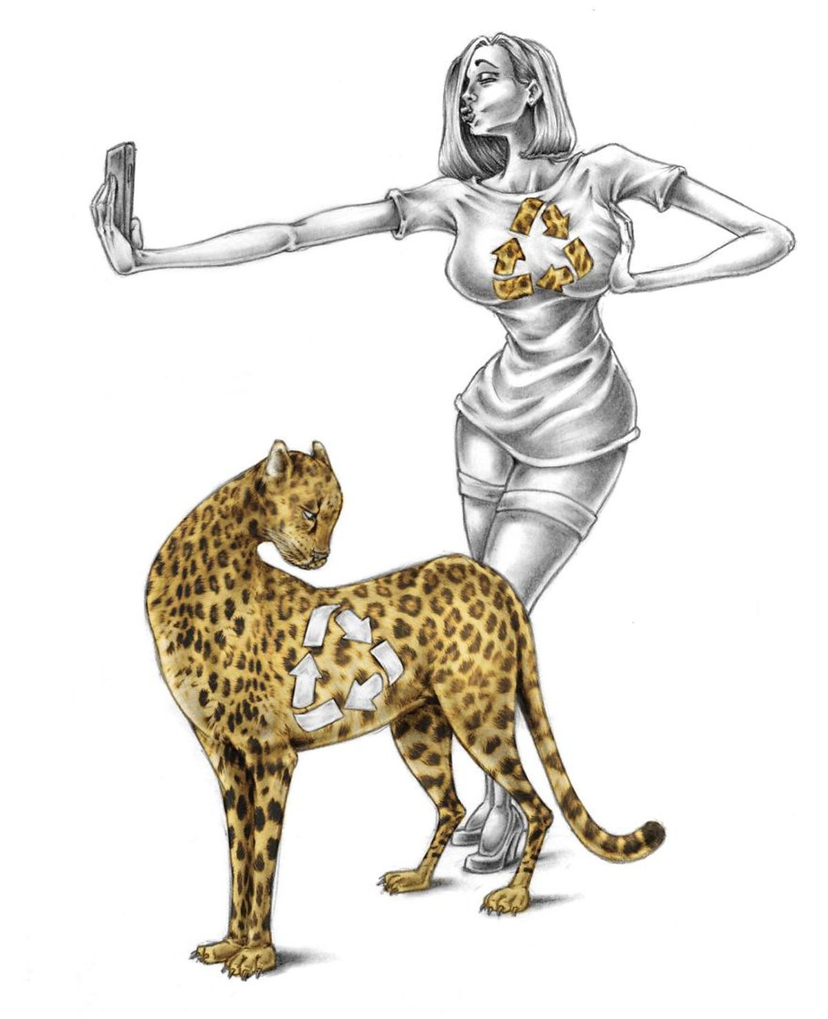 Satirische Illustrationen von Al Margen | Design/Kunst | Was is hier eigentlich los?