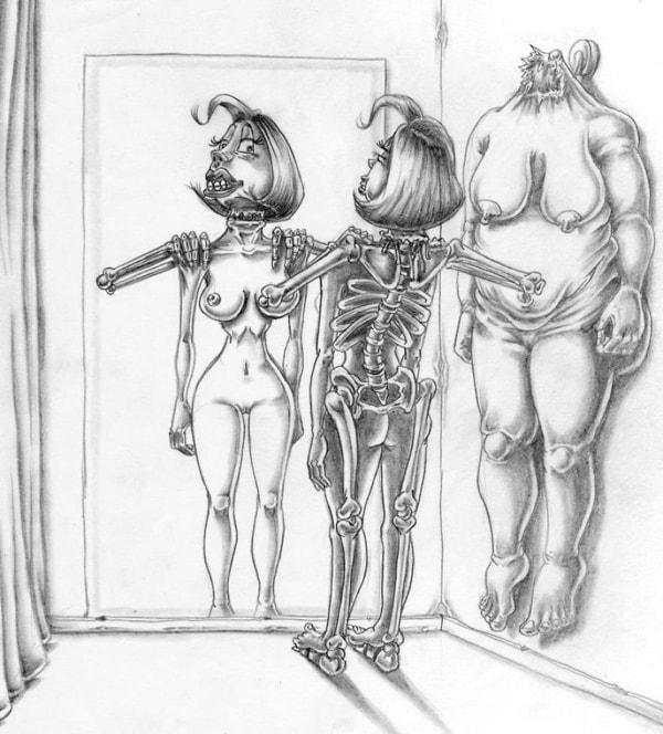 Satirische Illustrationen von Al Margen | Design/Kunst | Was is hier eigentlich los? | wihel.de