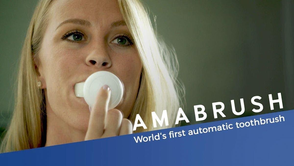 Amabrush: Putzt du deine Zähne noch oder vibrierst du schon? | Gadgets | Was is hier eigentlich los?