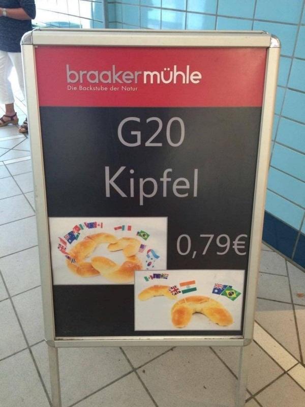 Auch zum G20-Gipfel gibt es schlechte Wortspiele | Lustiges | Was is hier eigentlich los? | wihel.de
