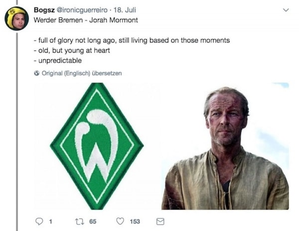 Fußballvereine als Game of Thrones-Figuren | Lustiges | Was is hier eigentlich los? | wihel.de