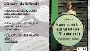 Gedankentüdelüt (64): Vom Suchen und Finden des Rechtschreipunk (inkl. Buchempfehlung) | Kolumne | Was is hier eigentlich los? | wihel.de