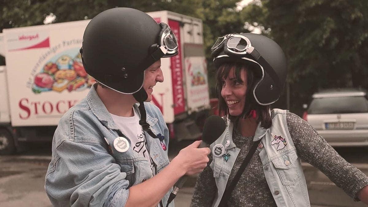 Hoppe, Hoppe! Mit viel Liebe für Apfelsaft unterwegs auf den Harley Days | Essen und Trinken | Was is hier eigentlich los?