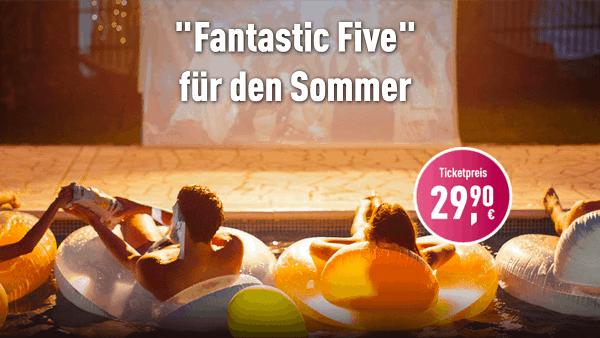 Leinwand statt Sonnenbrand - CinemaxX präsentiert das Fantastic Five-Ticket | sponsored Posts | Was is hier eigentlich los? | wihel.de