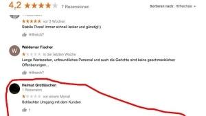 Nicht die beste Art auf eine Kundenbewertung zu reagieren | Lustiges | Was is hier eigentlich los? | wihel.de