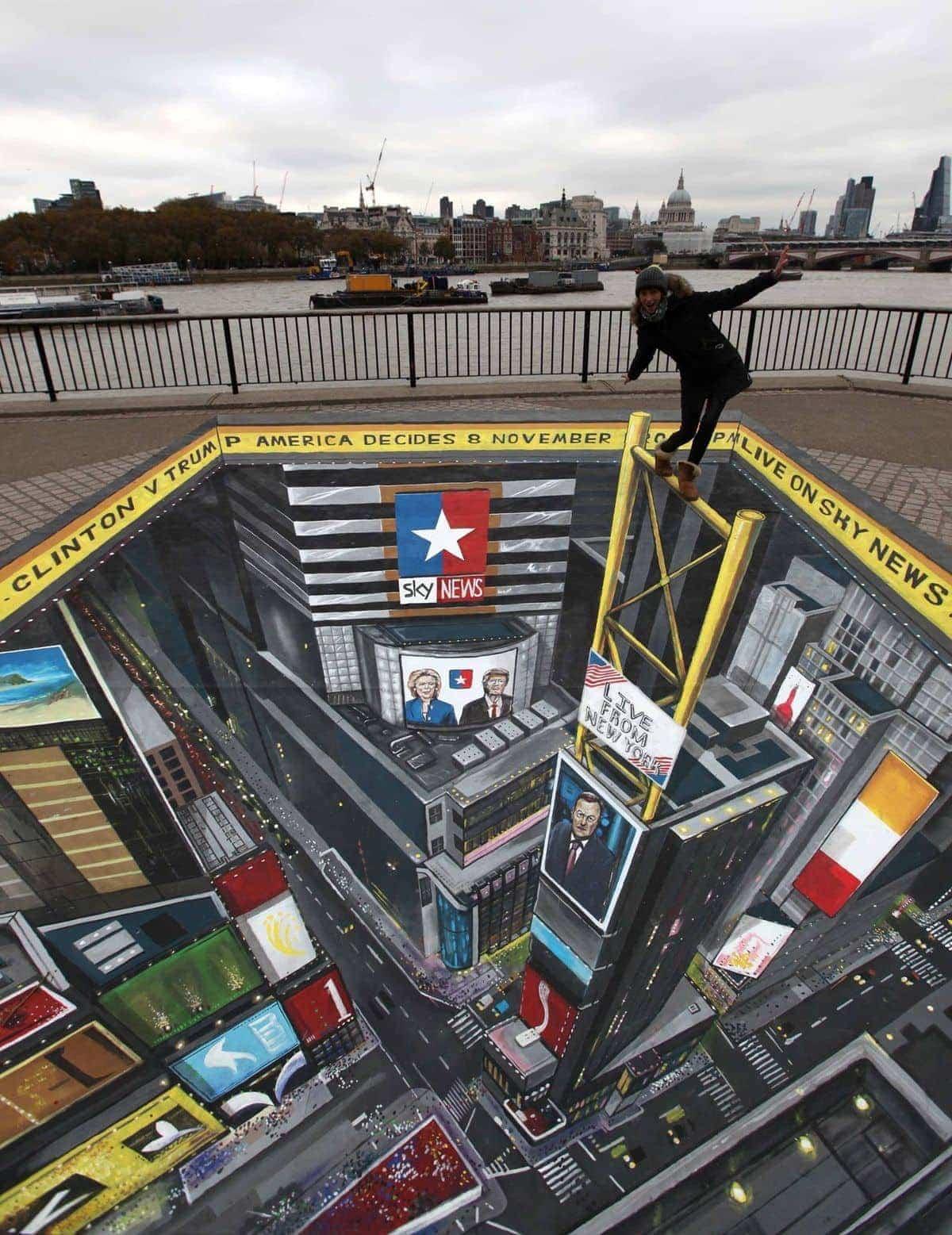 Tolle Perspektiv-Kreidekunst von Joe Hill | Design/Kunst | Was is hier eigentlich los?