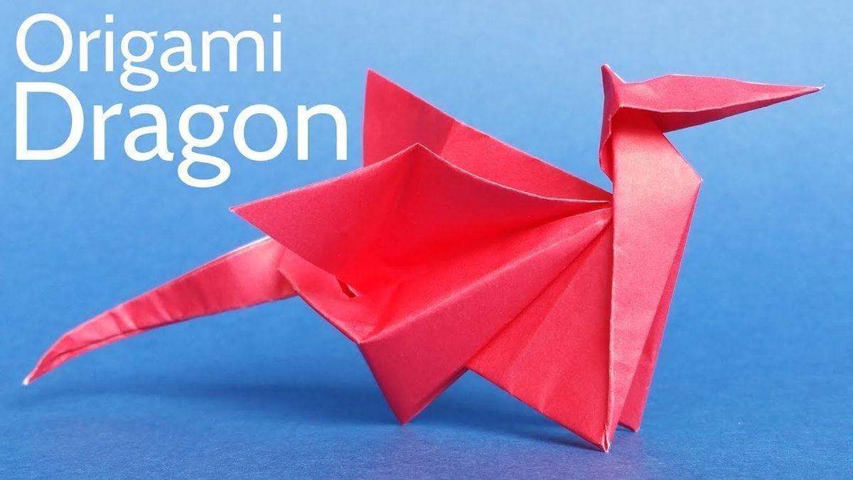 Wie man einen Origami-Drachen faltet | Handwerk | Was is hier eigentlich los?