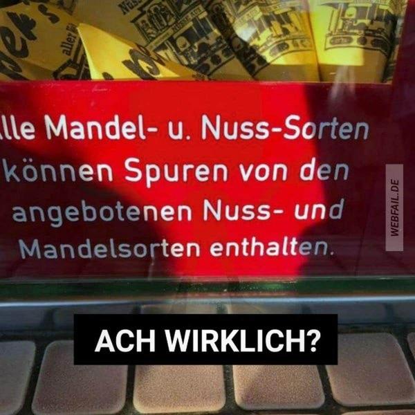 Zum Glück gibt es Warnhinweise | Lustiges | Was is hier eigentlich los? | wihel.de