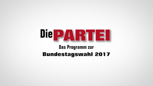 Das Parteiprogramm von Die Partei - Es ist sehr gut | Lustiges | Was is hier eigentlich los? | wihel.de