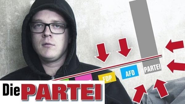 Der neue Wahlwerbespot von Die Partei | Lustiges | Was is hier eigentlich los?