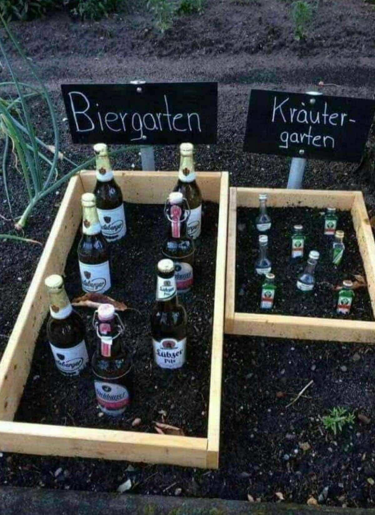 Ein Bier- und Kräutergarten | Lustiges | Was is hier eigentlich los?