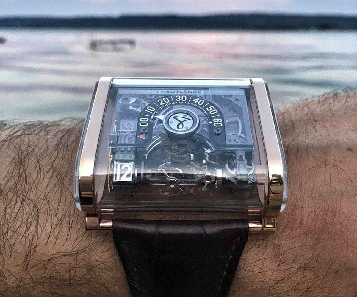 Eine zwei-achsige Tourbillon-Uhr: Die Hautlence Moebius | Gadgets | Was is hier eigentlich los?
