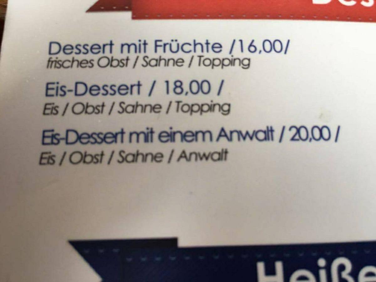 Eis mit Anwalt für 20€ | Lustiges | Was is hier eigentlich los?