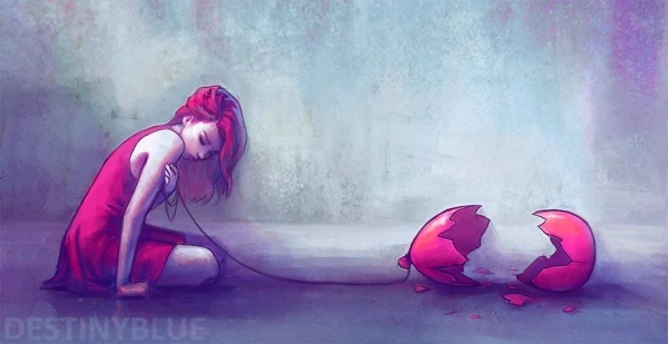 Illustrationen gegen Depressionen von Alice De Ste Croix | Design/Kunst | Was is hier eigentlich los?