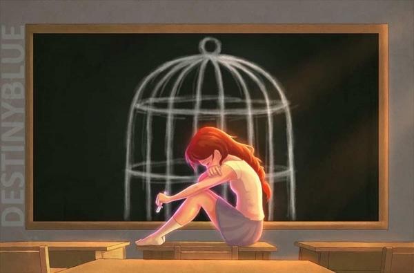 Illustrationen gegen Depressionen von Alice De Ste Croix | Design/Kunst | Was is hier eigentlich los? | wihel.de
