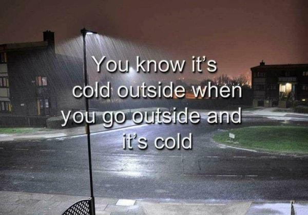 Lifehack: Wie man herausfindet, dass es draußen kalt ist ... | Lustiges | Was is hier eigentlich los? | wihel.de