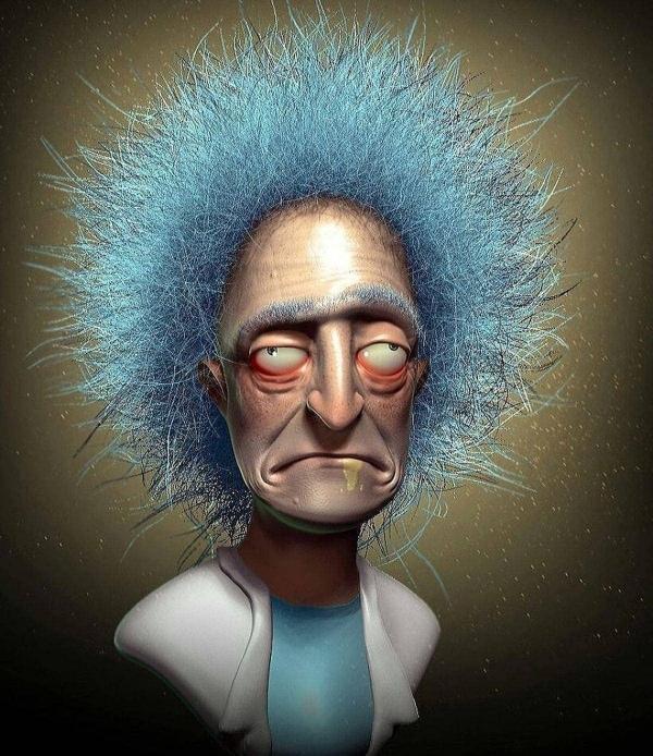 Realistische Cartoon-Figuren von Wil Hughes | Design/Kunst | Was is hier eigentlich los? | wihel.de